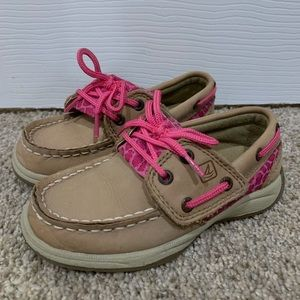 Sperry shoes little girls